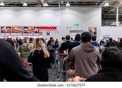 Melbourne Australia Nov 6 2017 Costco Wholesale Stock Photo
