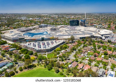 Melbourne, Australia - Dec 11, 2018: Aerial view of Chadstone Shopping Centre. It is the largest mall in Australia.
