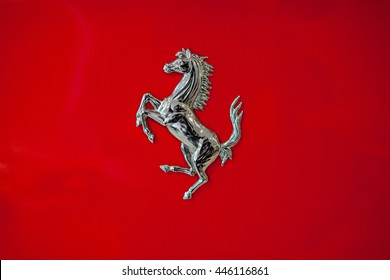 Melbourne, Australia - December 10, 2012 : Ferrari is an Italian sports car manufacturer based in Maranello. Founded by Enzo Ferrari in 1939, the company built its first car in 1940.