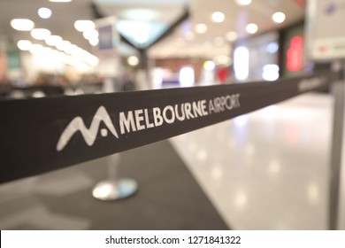 MELBOURNE AUSTRALIA - DECEMBER 9, 2018: Melbourne International airport in Melbourne Australia.