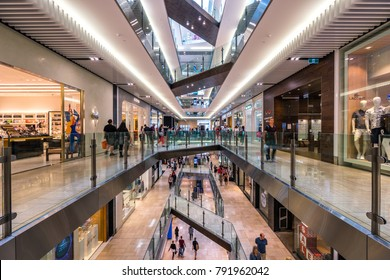 Melbourne, Australia - Jan 2, 2018: Emporium shopping centre