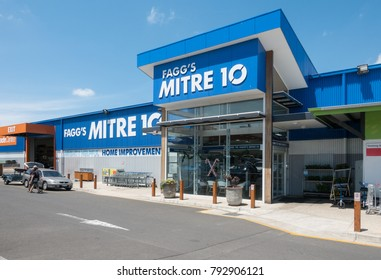 Melbourne, Australia - January 14, 2018: Mitre 10 is an Australian retail and trade hardware store chain.