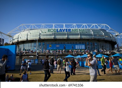 Rod Laver Arena Images Stock Photos Vectors Shutterstock