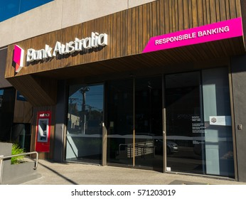Melbourne, Australia - January 3, 2017: Bank Australia, formerly Bankmecu and Members and Education Credit Union is a customer owned bank. This is its corporate headquarters in Kew.