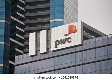 MELBOURNE, AUSTRALIA - JULY 30, 2018: PwC headquarters building in Melbourne Victoria Australia