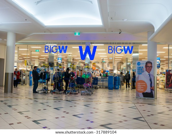 ade75baf7680b Melbourne, Australia - September 18, 2015: Big W is a chain of discount