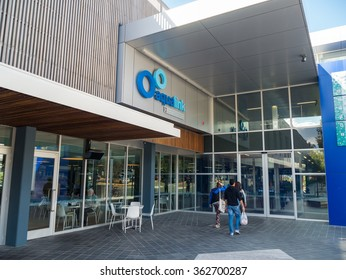 Melbourne, Australia - September 25, 2015: Aqualink in Box Hill is a public swimming pool and gymnasium operated by the Whitehorse City Council.