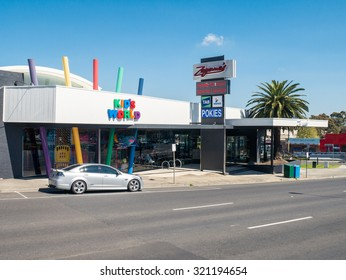 Melbourne, Australia - September 27, 2015: Zagame's is a chain of family friendly restaurants in Melbourne Australia, including Zagame's Boronia shown here.