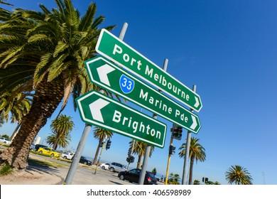 Melbourne, Australia (St. Kilda beach and Port Melbourne)