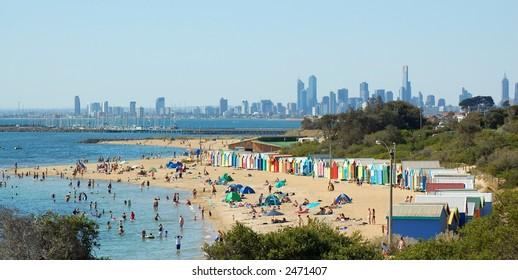 Melbourne Beach in Summer