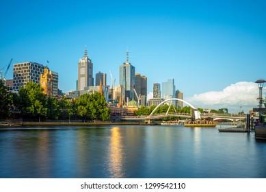 Melbourne city business district (CBD), Australia