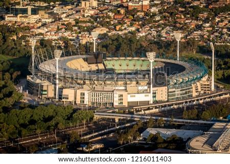Melbourne Cricket Ground Stock Photo (Edit Now) 1216011403