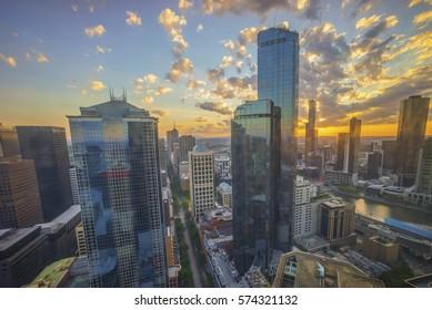 Melbourne Dramatic Sunrise