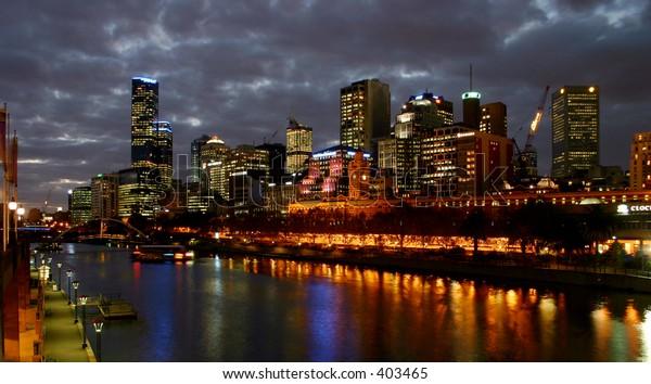 Melbourne southbank.