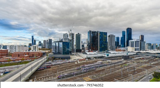 Melbourne (Southern Cross station in foreground)