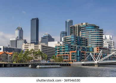 Melbourne Vic, Australia on 26th Jan 2016:Microflite own and operate the Melbourne City Helipad which is situated opposite Crown Casino and close to major city attractions.