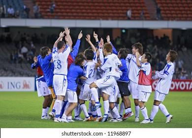 Melbourne Victory FC vs Gamba Osaka - Telstra Dome, 9th April '08