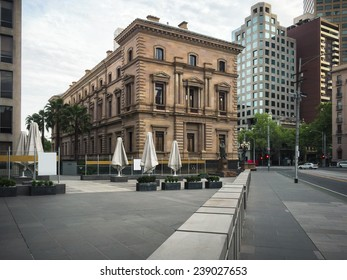 Melbourne's historic Old Treasury Building, Victoria, Australia. Once home to the Victorian Treasury Department, the building is now a museum of Melbourne history.
