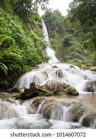 Mele Cascades Falls Waterfall, Efate, Vanuatu