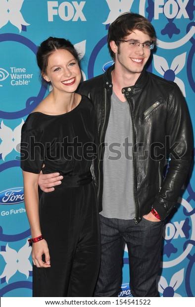 Melissa Benoist Blake Jenner Fox Tv Stock Photo Edit Now 154541522