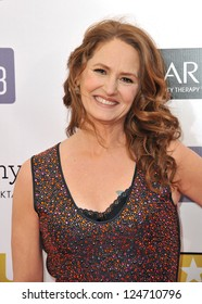 Melissa Leo at the 18th Annual Critics' Choice Movie Awards at Barker Hanger, Santa Monica Airport. January 10, 2013  Santa Monica, CA Picture: Paul Smith