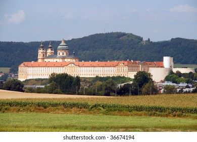 Melk Abbey (Stift Melk) - great Benedictine abbey in Austria. It is on UNESCO World Heritage list
