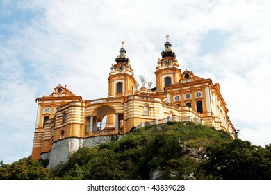 Melk Abbey (Stift Melk) - great Benedictine monastery in Austria. It is UNESCO World Heritage Site.