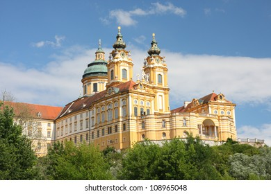 melk - benedictine abbey in austria