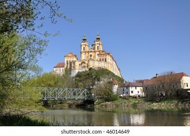 Melk monastery, abbey in Austria
