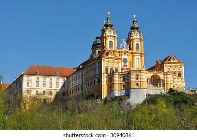 Melk monastery,abbey in Austria