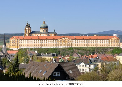 Melk monastery,world heritage,abbey in Austria