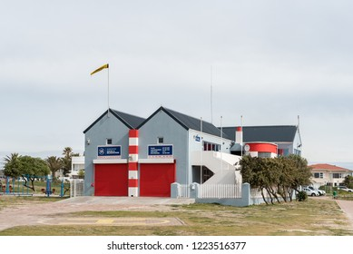MELKBOSSTRAND, SOUTH AFRICA, AUGUST 19, 2018: The building of the National Sea Rescue Institute in Melkbosstrand in the Western Cape Province
