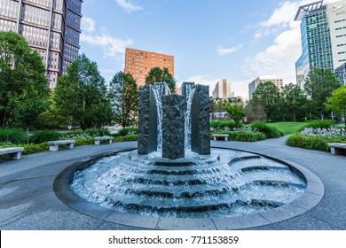 Mellon Green Park in Pittsburgh, Pennsylvania