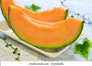 melon for dessert