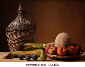 Melon and fruit