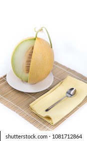 Melon fruit ready for eat, Galia melon fruit
