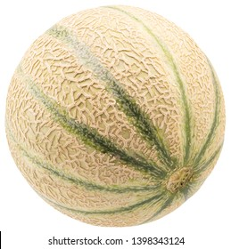melon isolated on a white background.