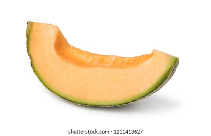 melon on isolated on white background