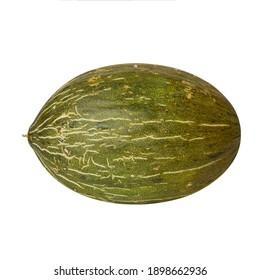 Melon Piel de sapo isolated on white