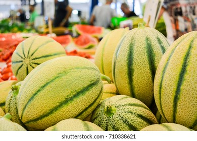 melons at the italian market