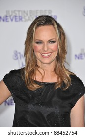 """Melora Hardin at the Los Angeles premiere of """"Justin Bieber: Never Say Never"""" at the Nokia Theatre LA Live. February 8, 2011  Los Angeles, CA Picture: Paul Smith / Featureflash"""