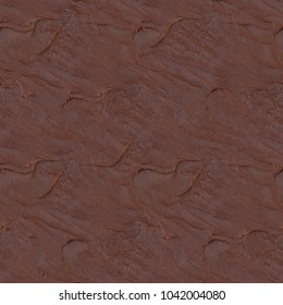 Melted Chocolate Crust Seamless Texture Pattern Background