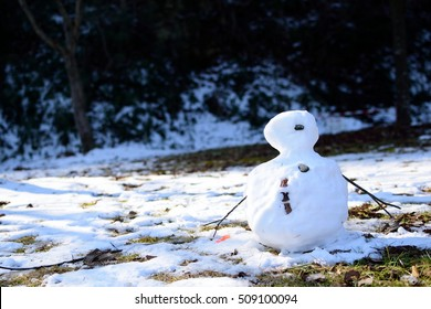 melting little snowman