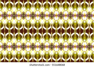 Melting rectangle seamless colorful artistic horizontal pattern for textile, ceramic tiles and backgrounds. Aspect ratio 3:2