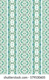 Melting seamless colorful vertical pattern for textile, ceramic tiles and backgrounds. Aspect ratio 3:2