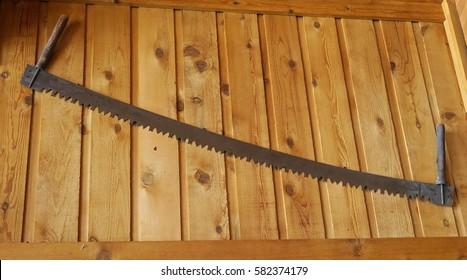 memorabilia wood saw