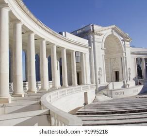 Memorial Amphitheater, Arlington Cemetery Virginia, Near Washington DC