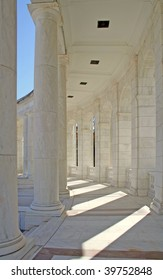 The Memorial Amphitheater at the Tomb of the Unknown Soldier, Arlington National Cemetery, Virginia