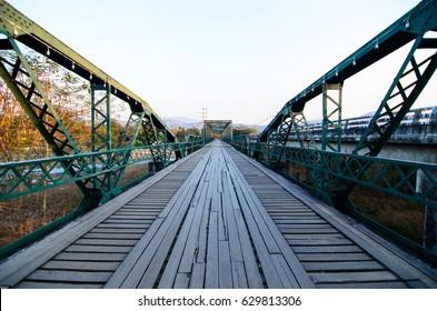 The memorial bridge in Pai, Mae Hong Son, Thailand