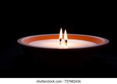 Memorial candle snitch.